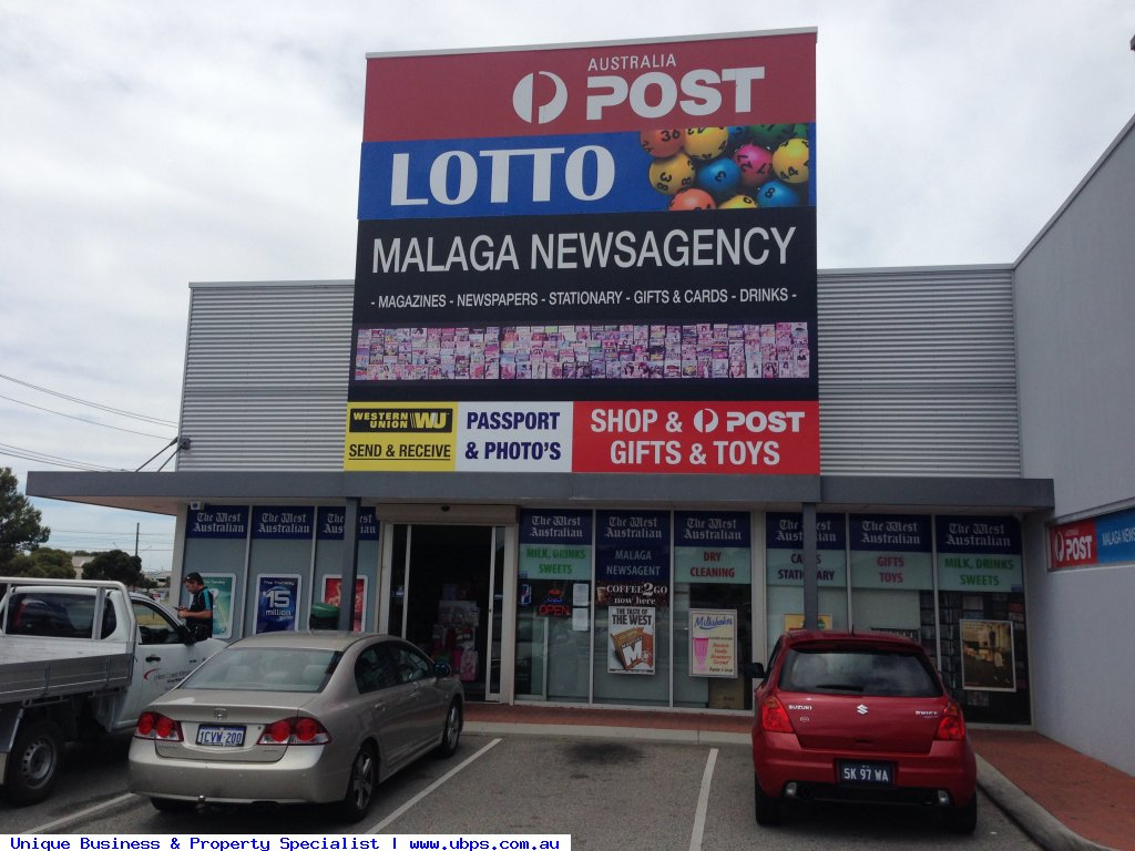 TOP PERFORMER AUSTRALIA POST with NEWSAGENCY & LOTTERIES