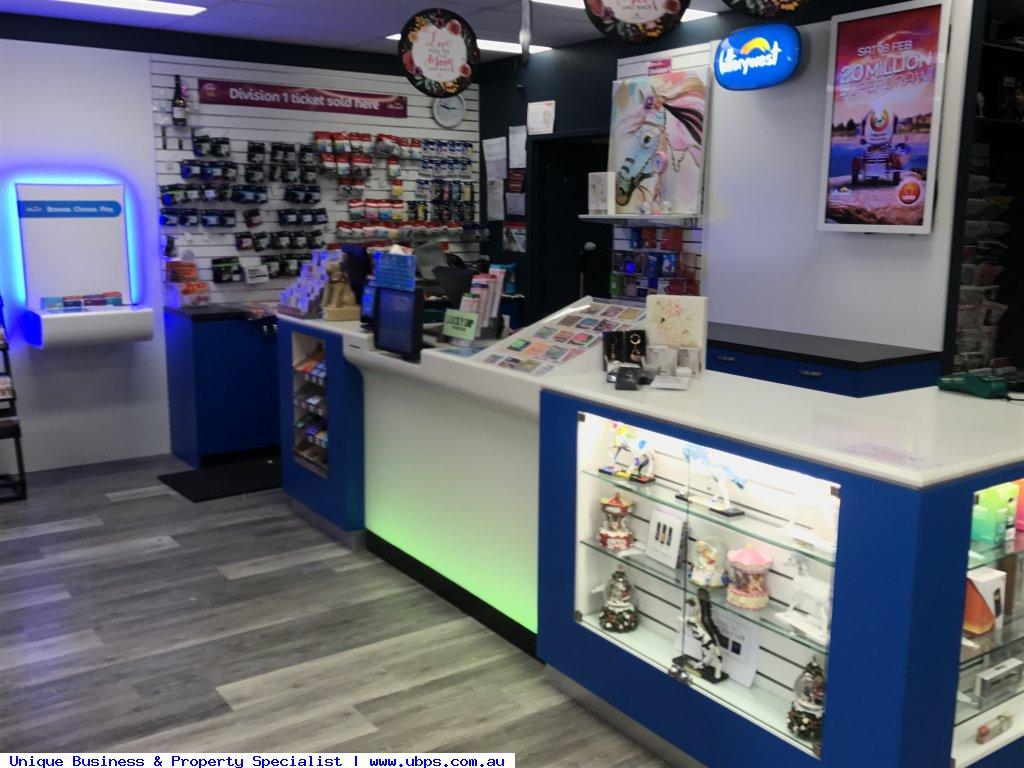 Excellent profit Newsagency with lotteries