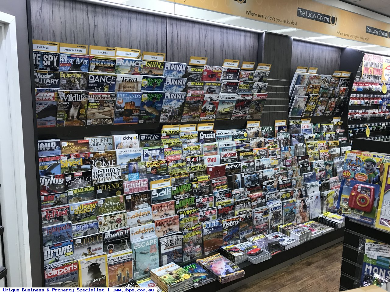 Nicely presented Newsagency