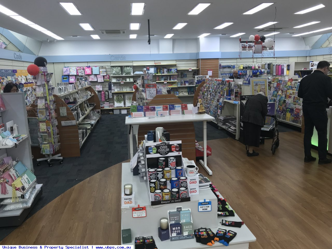 Newsagency and Lotto outlet